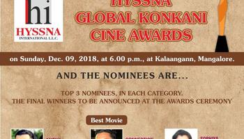 Mandd Sobhann announces nominees for first Hyssna Global Cine Awards