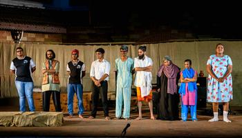 Kalakul enthralls audience with 'Moaksh Bhavan'
